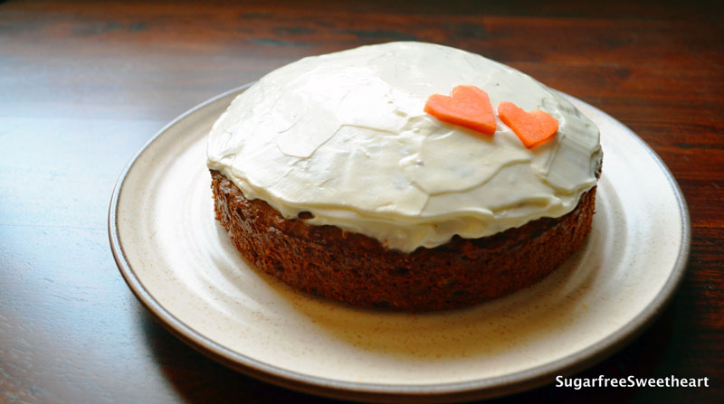 diabetic diet dessert carrot cake