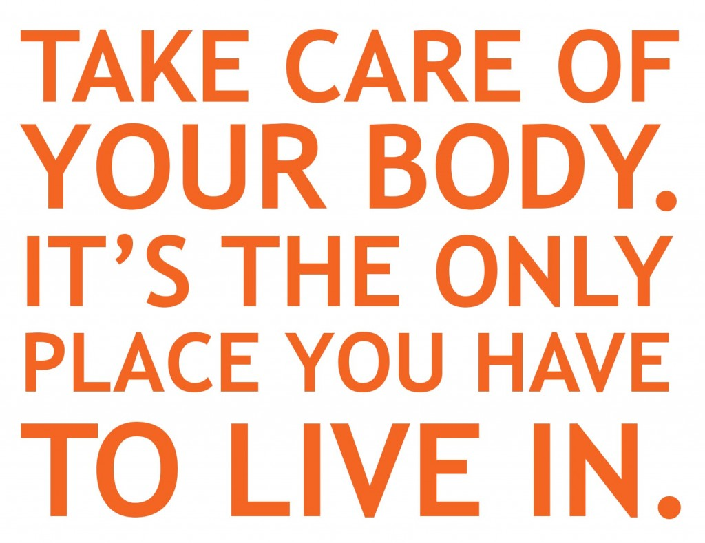 Healthy Living Quotes Hqotd  Your Body Is The Only Place You Live In  Healthworks Malaysia