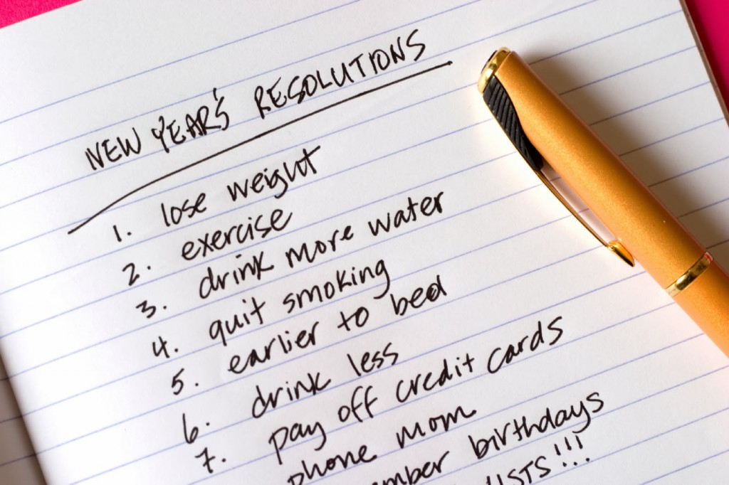 healthy resolution
