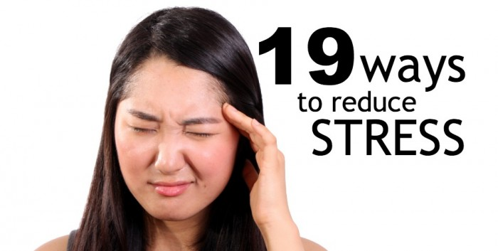 stress management, reduce stress