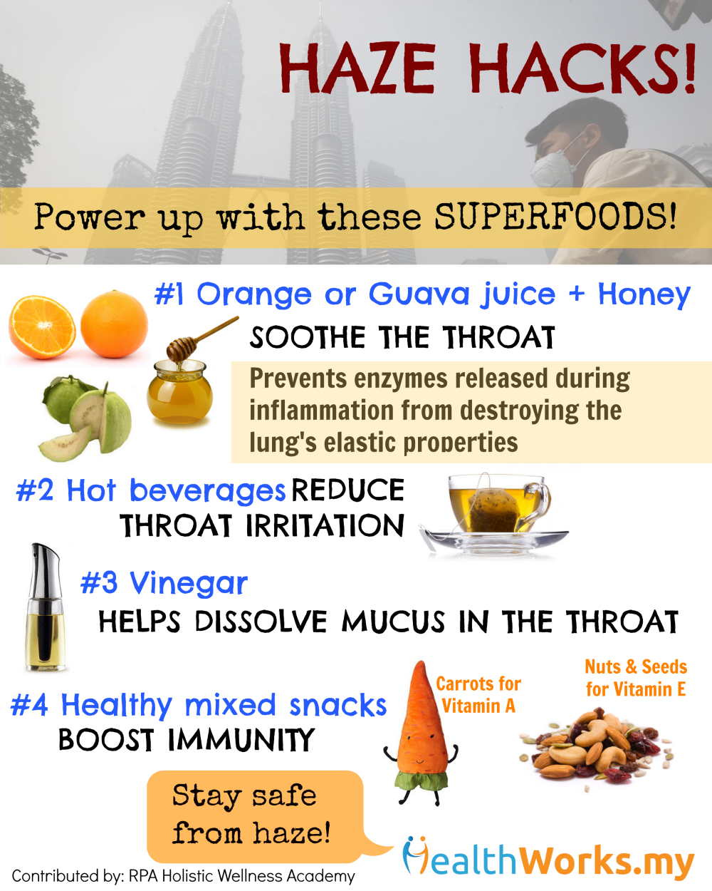 haze, superfood