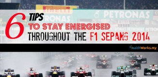 How to Stay Energised Throughout the F1 Sepang 2014