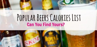 popular beers calories list