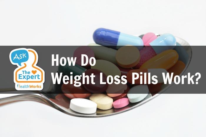 How do weight loss pills work?