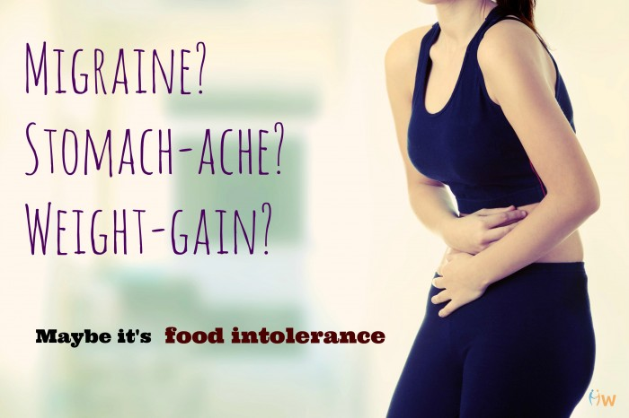 Signs of food intolerance
