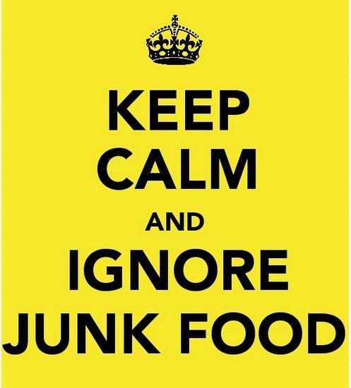 junk food, healthy eating