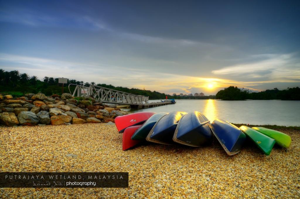 Kayaking at Putrajaya Wetlands Cheap Date