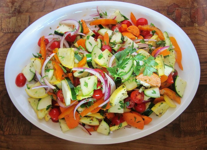 Raw food recipe ratatouille recipe easy raw ratatouille forumfinder Image collections