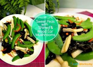 Sweet Peas with Mushrooms Stir Fry Recipe