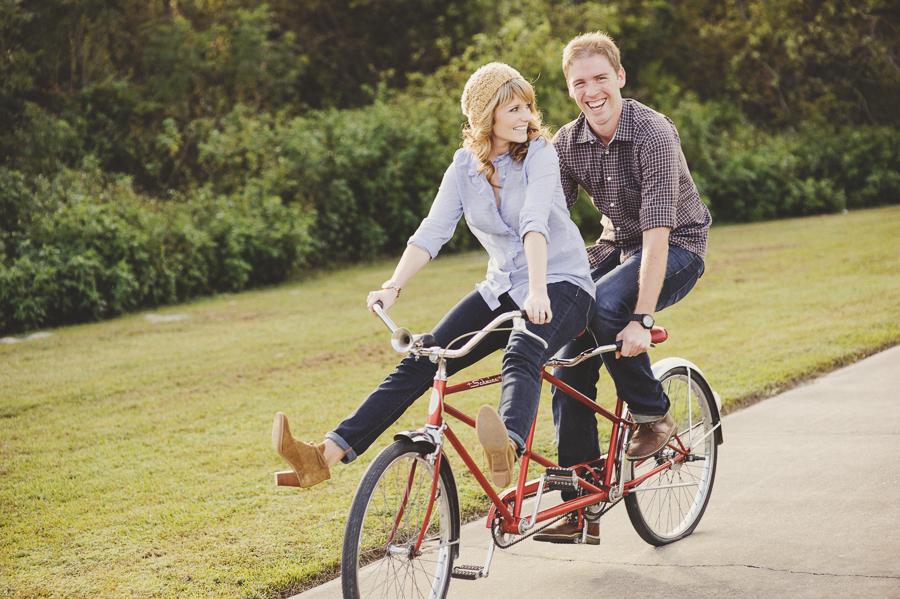 Tandem bike dating