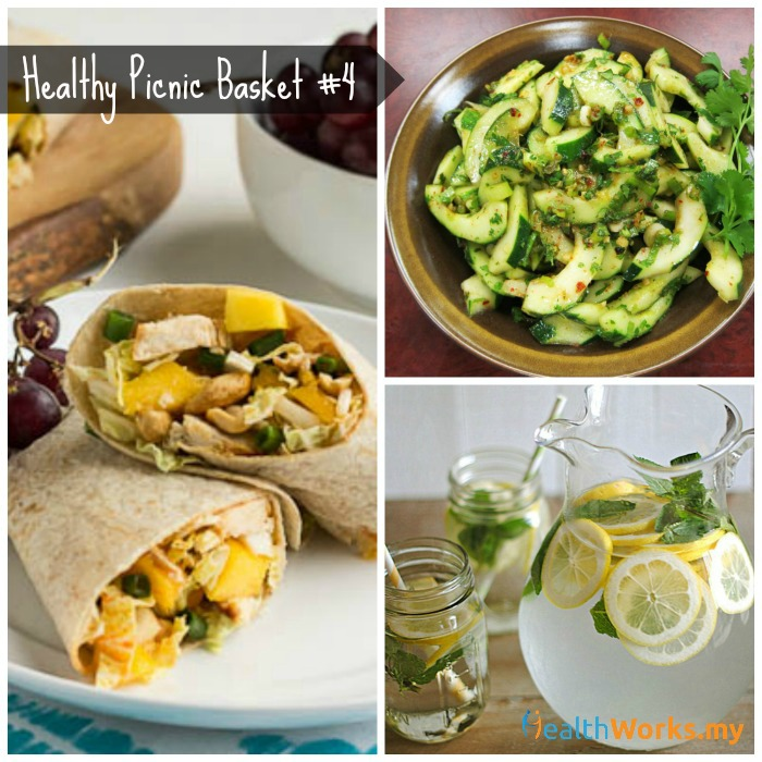 Healthy Picnic Basket