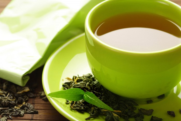 Green tea to burn fat