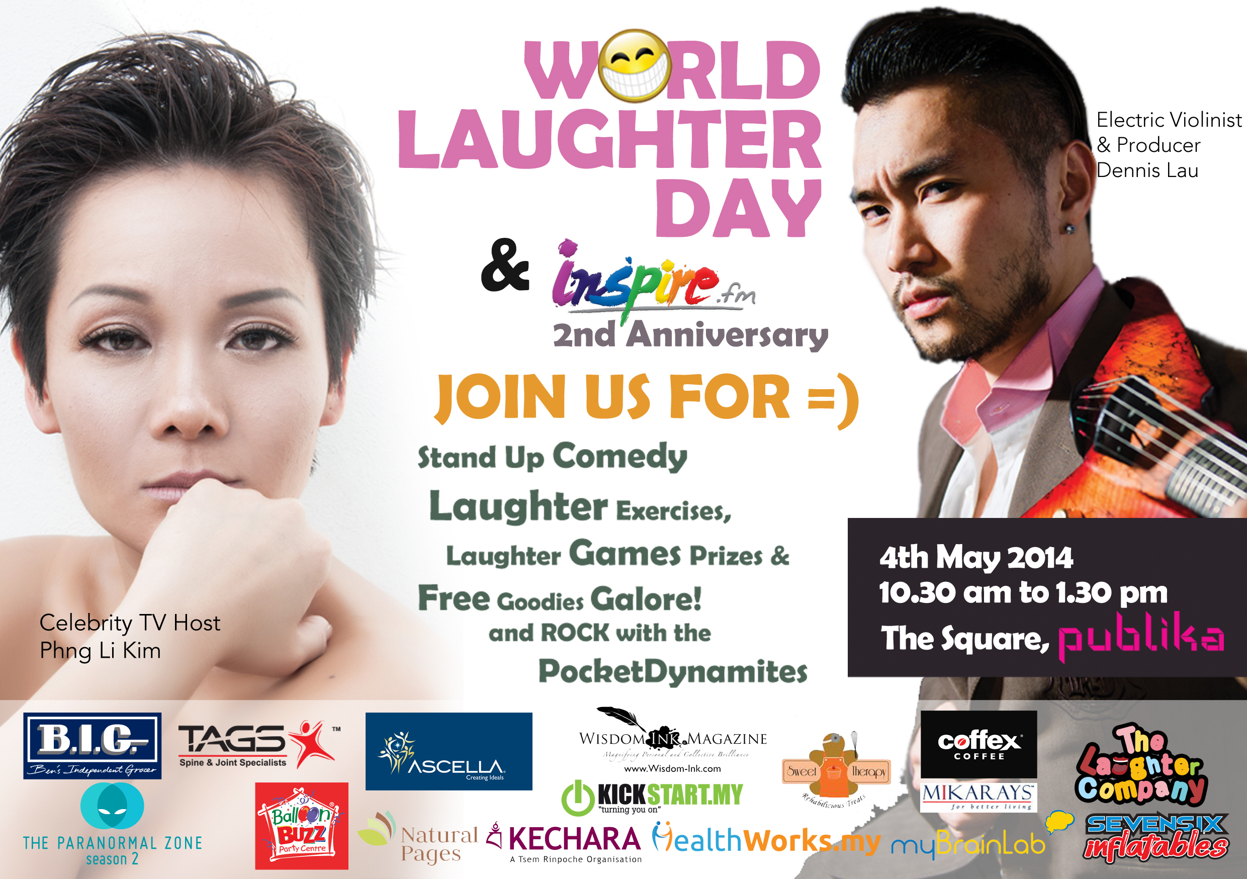 World Laughter Day @ Publika