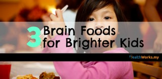 Brain food for brighter kids