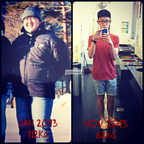 Chrys Lee Before and After Weight loss