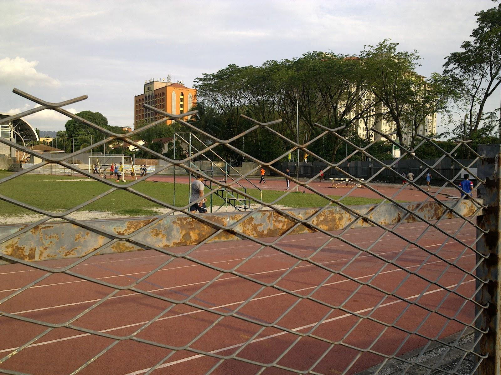Kampung pandan running track
