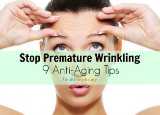 Stop Premature Wrinkling