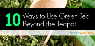 10 ways to use green tea