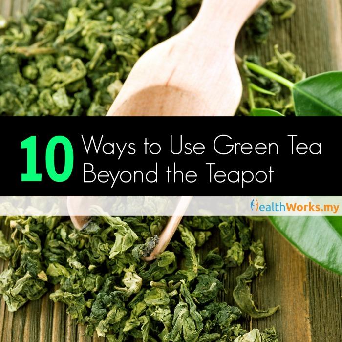 10 ways to use green tea