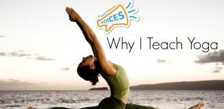 Why i teach yoga