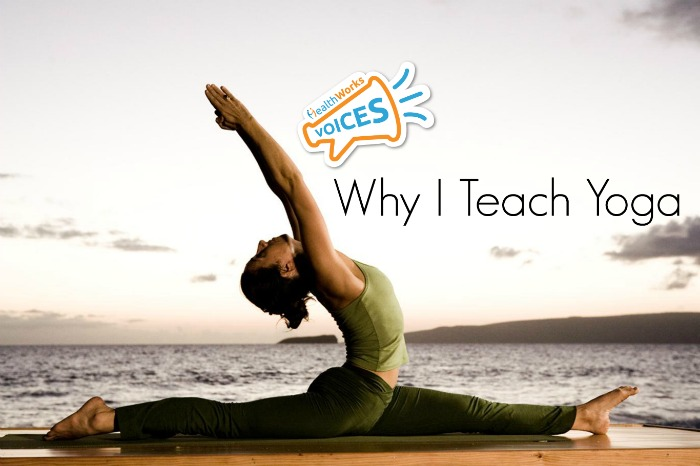 Why i teach yoga