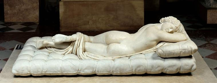 Borghese Hermaphroditus, Musée du Louvre, Paris, France | Source: exploringvenustas.wordpress.com