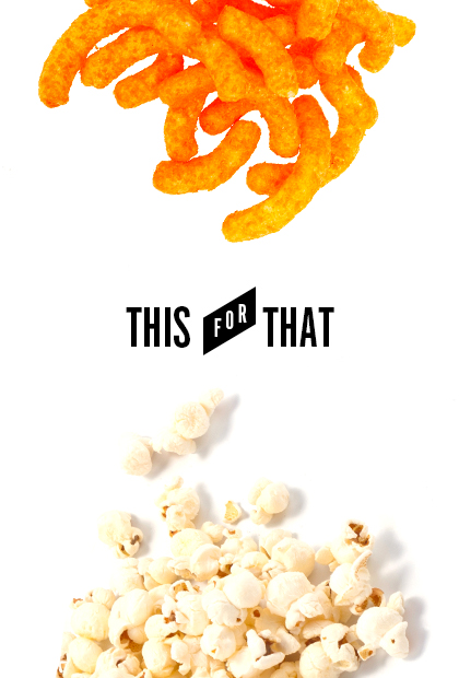 Swap plain air-popped popcorn for Cheetos | Source: totalbeauty.com