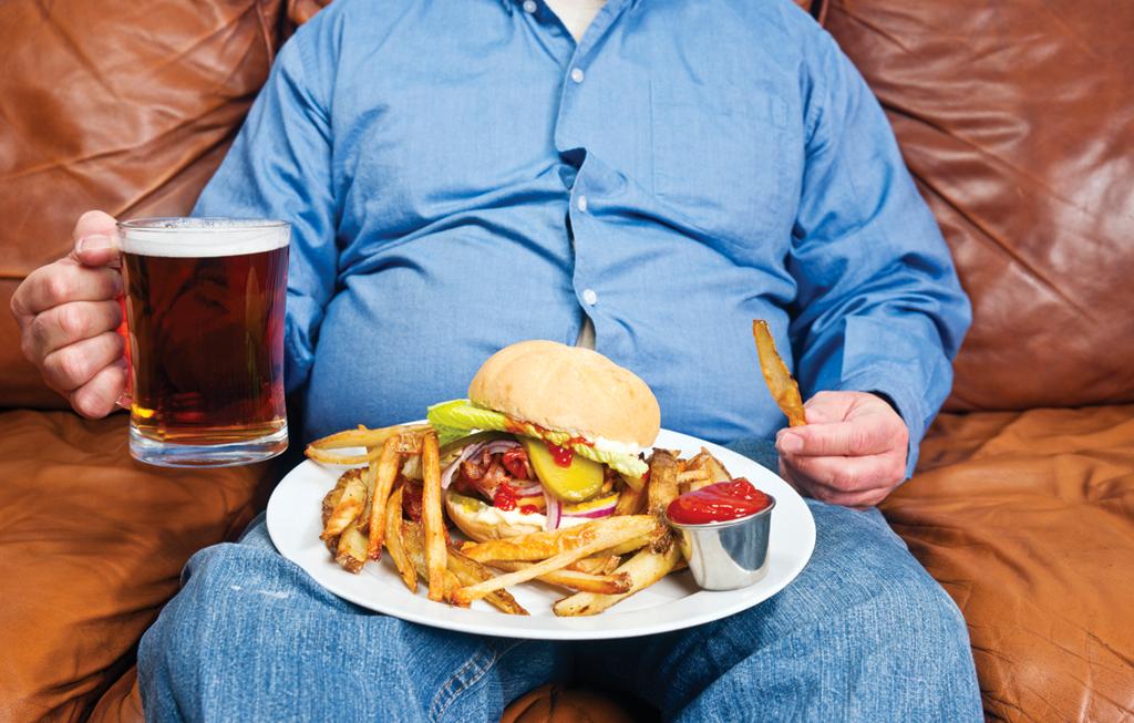 ВОЗ  Ожирение и избыточный вес