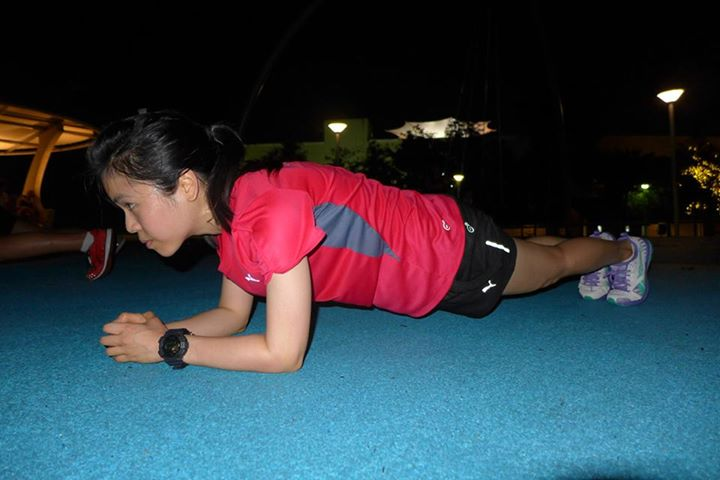 Me doing a plank | Source: adeleruns.wordpress.com