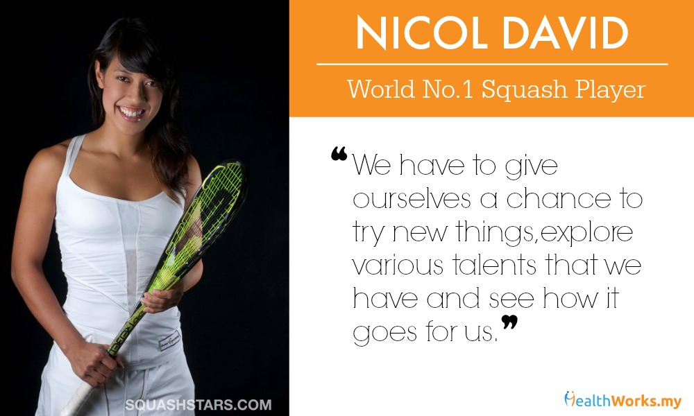 What is Mental Toughness to Nicol David, World No. 1 Squash Player