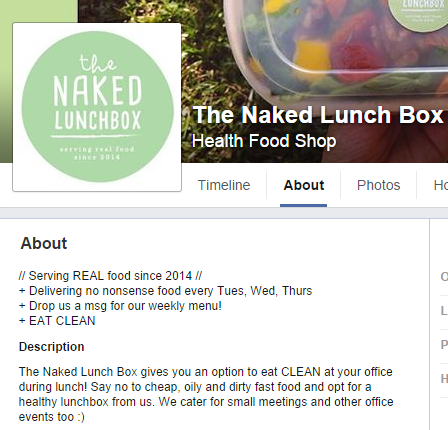 The Naked Lunch Box
