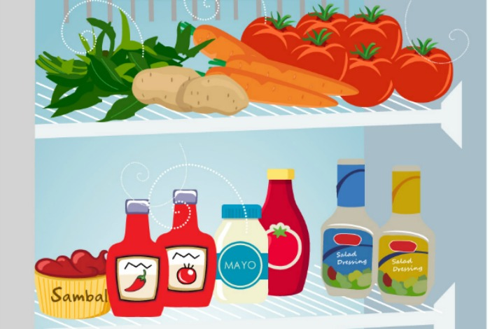 infographic food storage how long does your food last in the fridge. Black Bedroom Furniture Sets. Home Design Ideas