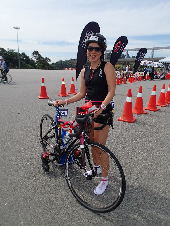 Mi Mi at the Shimano Highway Challenge 2013