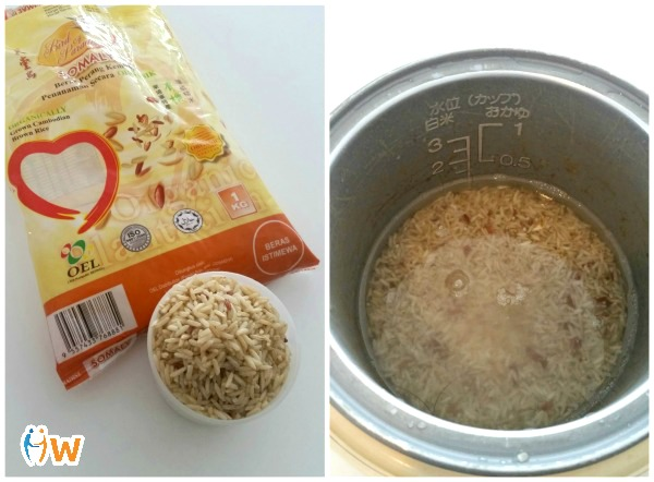 Recipe: Rice Cooker Whole Tomato Rice with a Healthier Twist (with Step-by-Step Pics)