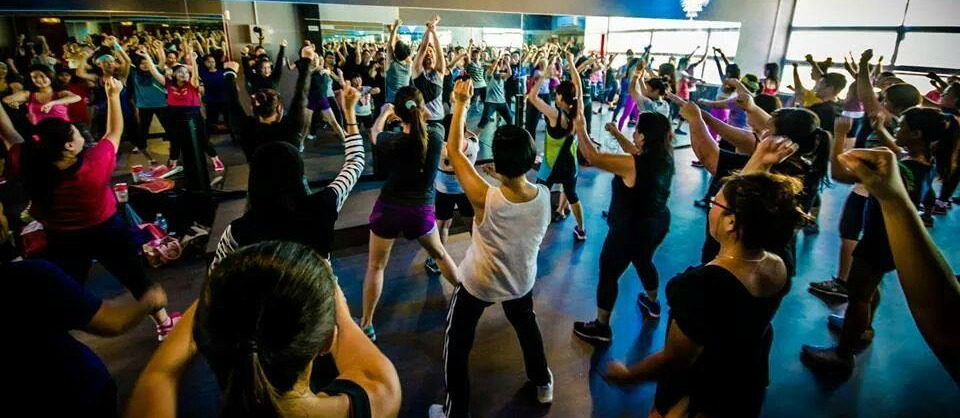 Zumba at Glam Fitness Empire | Source: Alexis Wee & Catherine Chong
