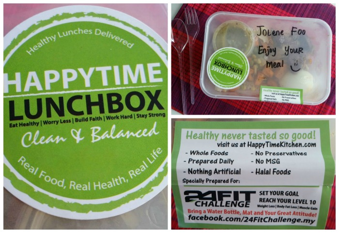 Healthy Lunch Delivery Review: HappyTime Kitchen