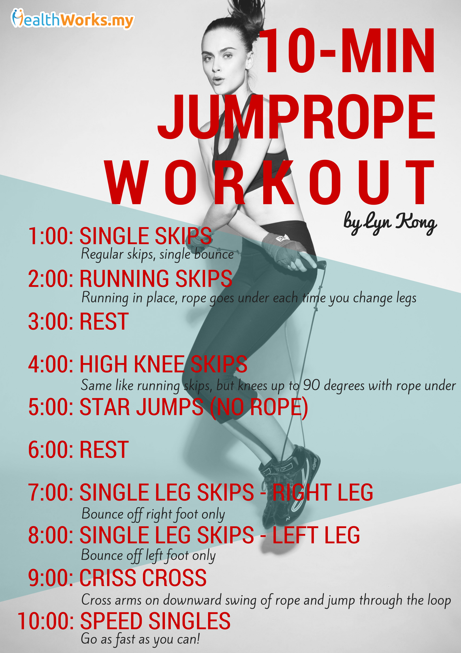 Jump Your Way to Fit: 3 Jump Rope Workouts