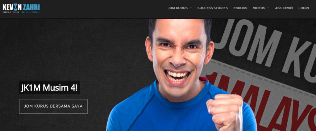 Kevin Zahri   Cikgu Fitness Malaysia