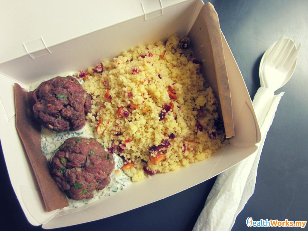 Meatballs Couscous