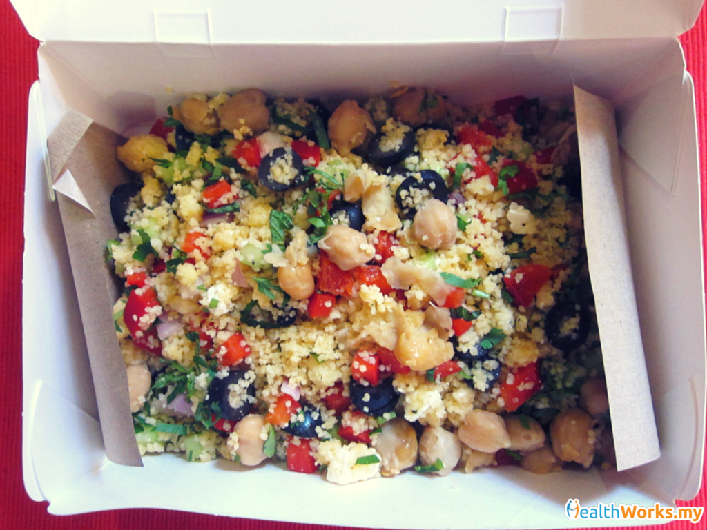 Greek Salad with CousCous Food Matters