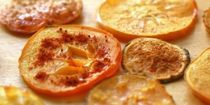 baked persimmon