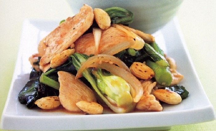 stir fry vegetable with chicken