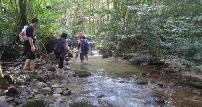 sungai ampang hike