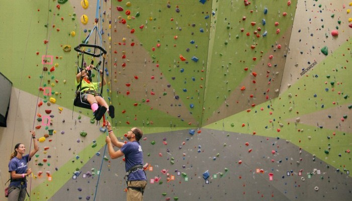 rock climbing for disabled