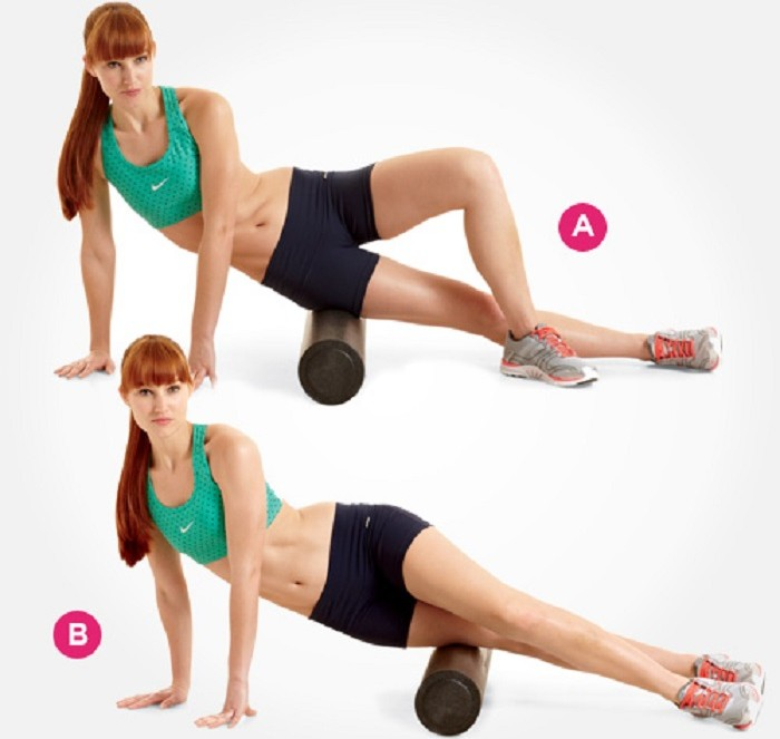 foam roller outer thighs