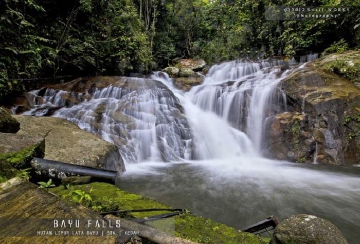 lata bayu kedah waterfall