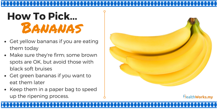 how to pick bananas