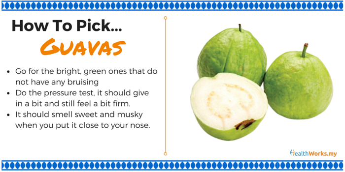 how to pick guavas