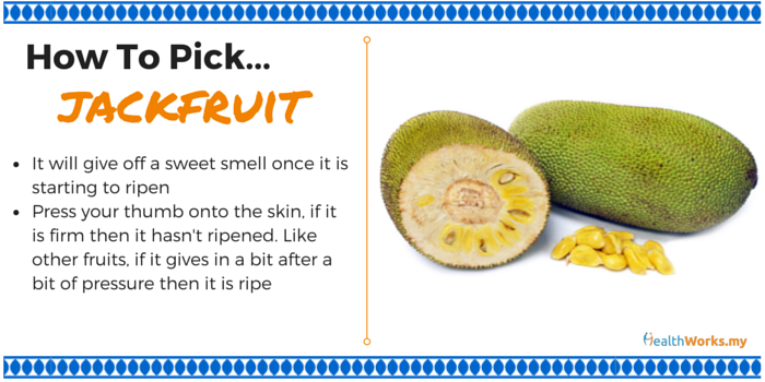 how to pick jackfruit