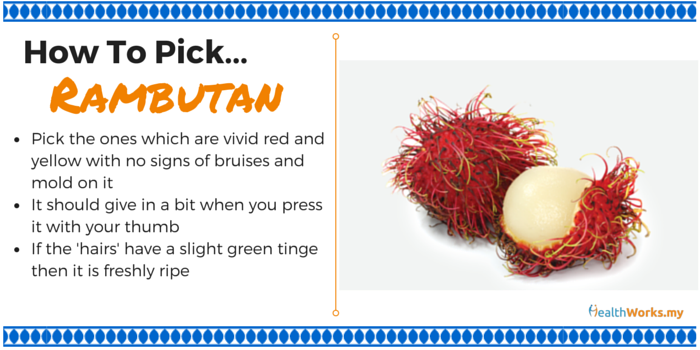 how to pick rambutans